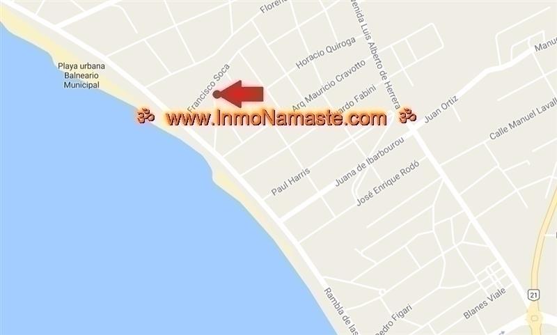 VENTA - Excelente Terreno a 50 mts de la Rambla en Colonia del Sacramento  | Inmobiliaria Namasté | Colonia, Uruguay
