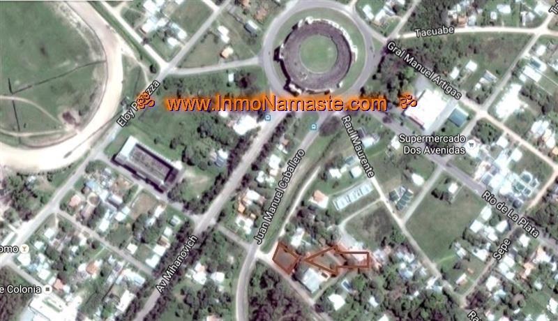VENTA - Excelente Terreno a mts de Rambla y Plaza de Toros en Colonia del Sacramento  | Inmobiliaria Namasté | Colonia, Uruguay