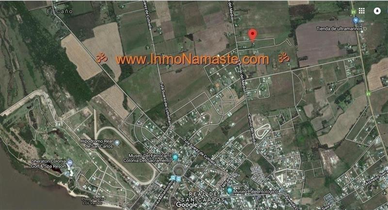 VENTA - Excelente Terreno en Fraccionamiento La Quinta en Colonia del Sacramento  | Inmobiliaria Namasté | Colonia, Uruguay